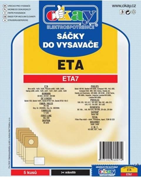 Jolly Vrecká do vysávača Eta ETA 7, 10ks