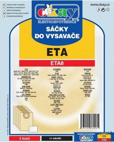 Vrecká do vysávača Eta ETA 8, 10ks