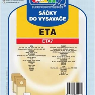Vrecká do vysávača Eta ETA 7, 10ks