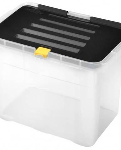 Úložný box s vekom Heidrun HDR650, 9l, plast