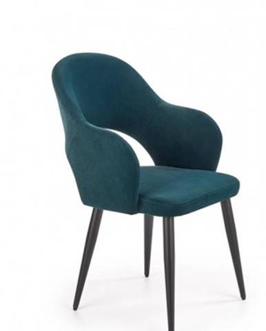 Jedálenská stolička Tunja zelená