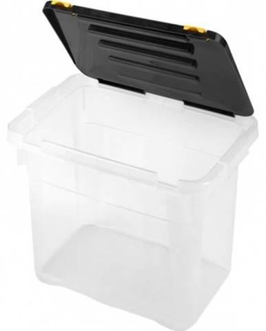 Úložný box s vekom Heidrun HDR652, 18l, plast