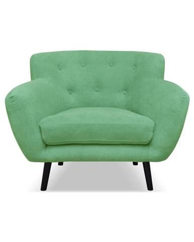 Zelené kreslo Cosmopolitan design Hampstead