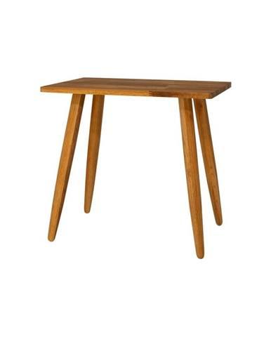 Stolička z masívneho dubového dreva Canett Uno