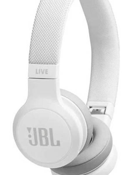 JBL Slúchadlá JBL Live 400BT biela
