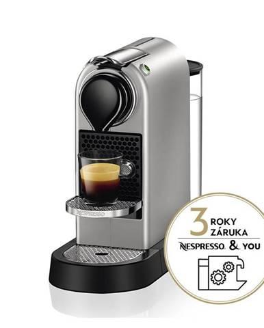 Espresso Krups Nespresso Citiz XN741B10 strieborn