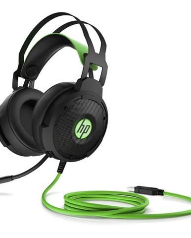 Headset  HP Gaming 600 čierny/zelený