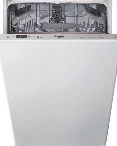 Umývačka riadu Whirlpool Wsic 3M17 strieborn