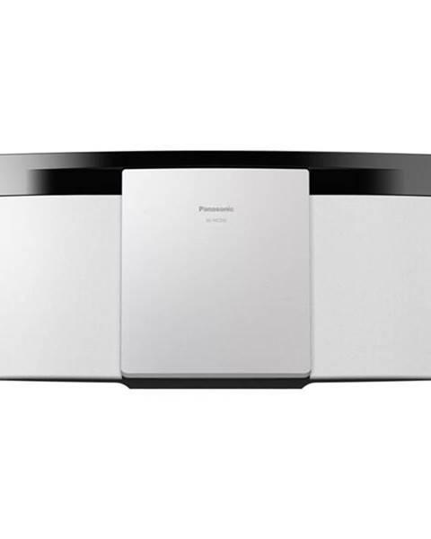 Panasonic Mikro HiFi systém Panasonic SC-Hc200eg-W biely