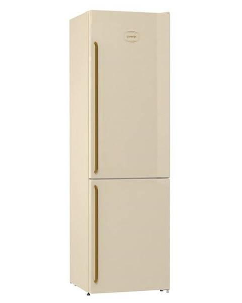 Gorenje Kombinácia chladničky s mrazničkou Gorenje Classico Nrk6202cli