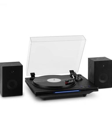 Auna TT-Play PLUS, gramofón, reproduktory, max.20W, BT, 33/45/78 rpm