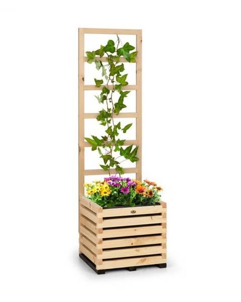 Blumfeldt Blumfeldt Modu Grow 50, súprava vyvýšeného záhona a mriežky, 50 x 151 x 45 cm, borovicové drevo, bublinková fólia