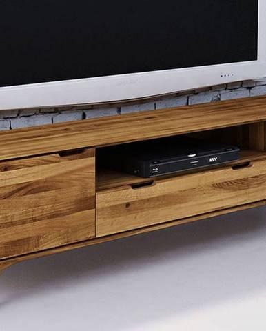 SKANE TV stolík 180x48 cm, dub, prírodná