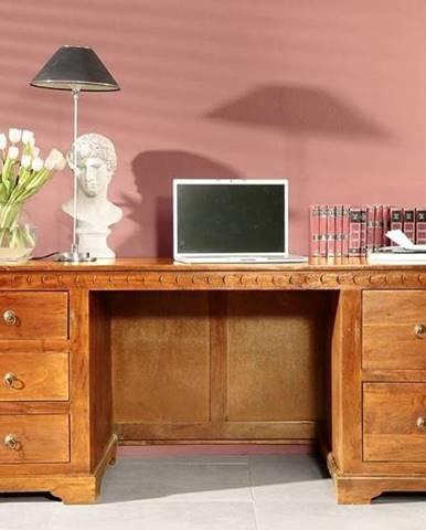 CAMBRIDGE HONEY Písací stôl 180x80 cm, akácia