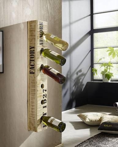 FABRICA Regál na víno 45x25 cm, mango