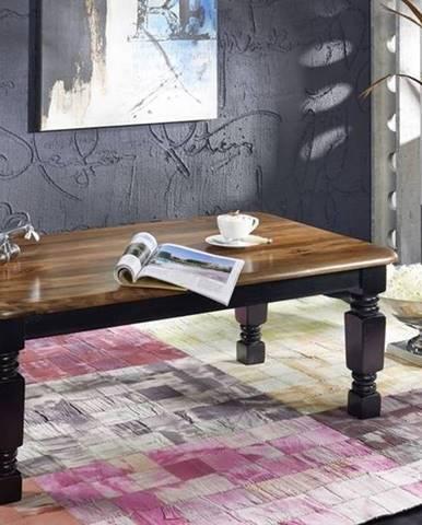 KOLONIAL Konferenčný stolík 118x70 cm, palisander