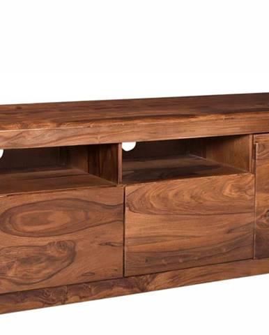 MONTREAL TV stolík 178x58 cm, hnedá, palisander