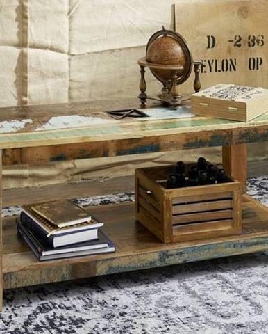 OLDTIME Konferenčný stolík 110x50 cm, staré drevo