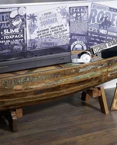 OLDTIME Konferenčný stolík 155x52 cm, staré drevo