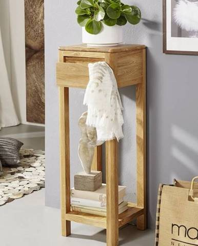 VIENNA Príručný stolík30x90 cm, dub