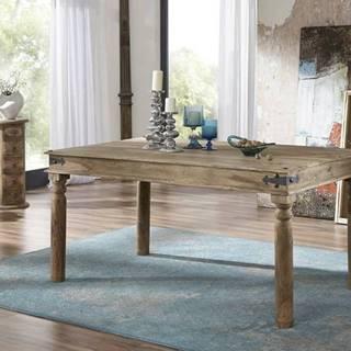 CASTLE Jedálenský stôl 120x90 cm, palisander