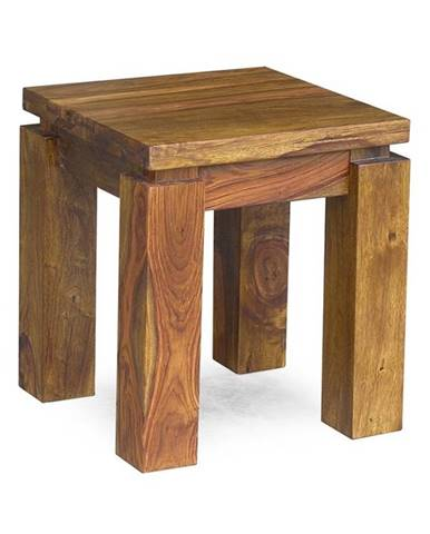 DAKOTA Príručný stolík 40x40 cm, palisander