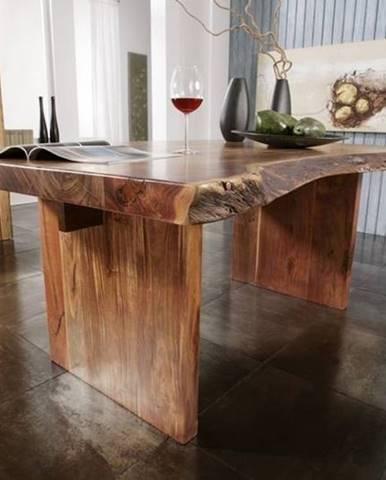 METALL Jedálenský stôl Štandard 150x100 cm, akácia