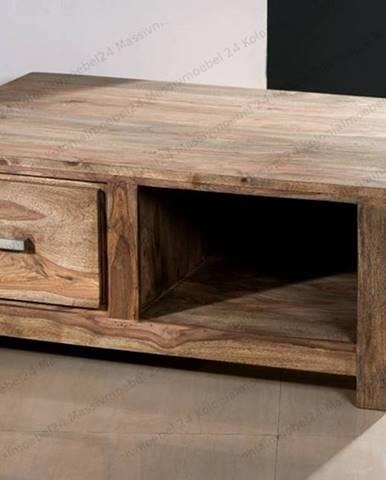 NATURAL Príručný stolík 100x70 cm, palisander