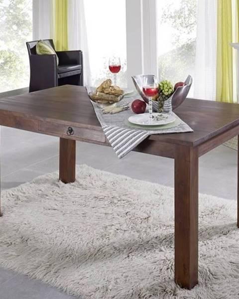 Bighome.sk CAMBRIDGE Jedálenský stôl 120x85 cm, akácia
