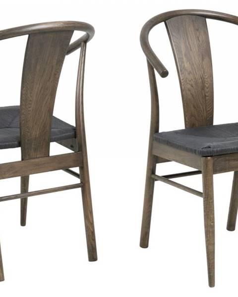 Bighome.sk Jedálenská stolička JANIK, hnedá