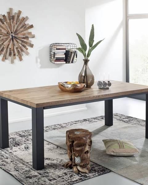 Bighome.sk TIROL Jedálenský stôl 240x100 cm, tmavohnedá, dub