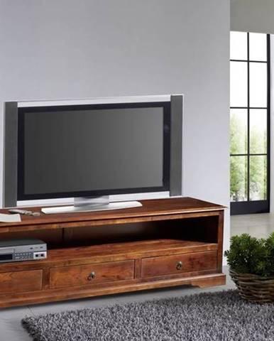 CAMBRIDGE TV stolík 176x50 cm, akácia