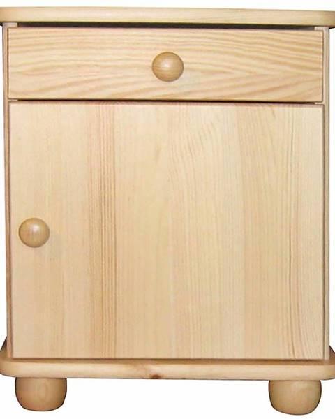 MERKURY MARKET Nočný stolík borovica