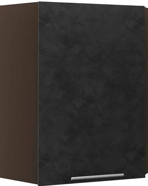 MERKURY MARKET Skrinka do kuchyne Malmo Ares black W10/60  lava