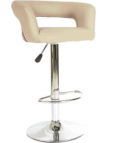 Barová stolička Jupiter krémová 7166