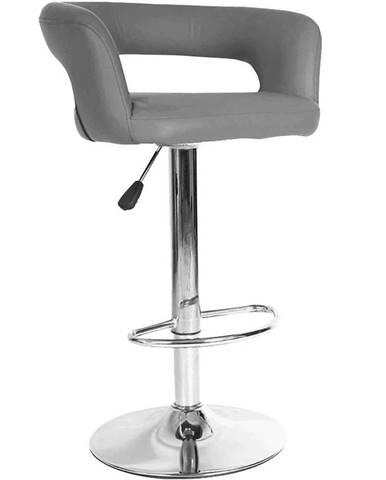 Barová stolička Jupiter sivá 7166