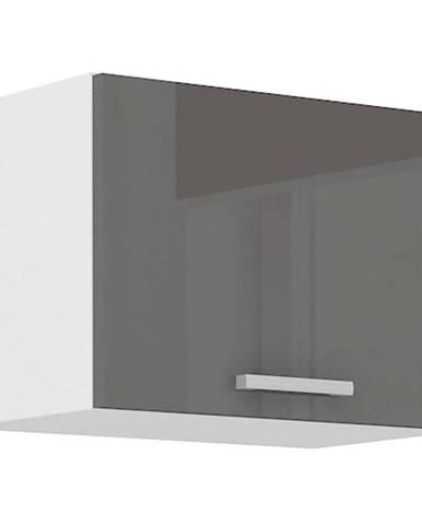 Skrinka do kuchyne SONIA šedý lesk 50OK-40