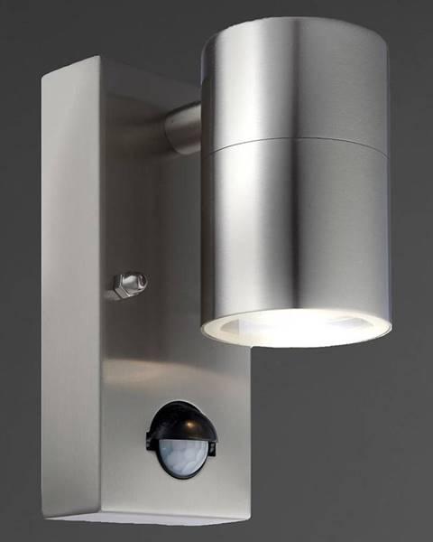 MERKURY MARKET Záhradná lampa LED 3201Sl Sensor Inox Kd1