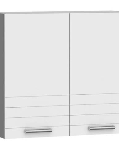 Kuchynská skrinka Paula biela W80 SU ALU