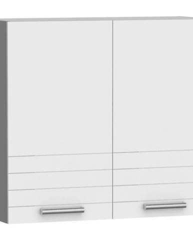 Kuchynská skrinka Paula biela W80