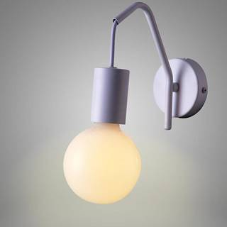 Basso Svietniková lampa 1x40w E27 Biela matná