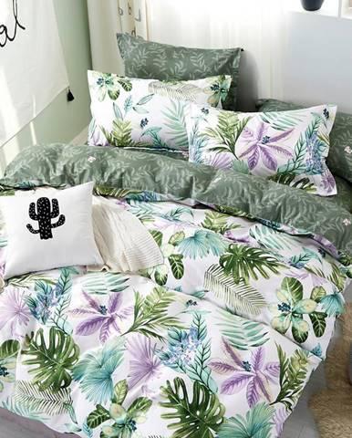 Bavlnená saténová posteľná bielizeň ALBS-01102B