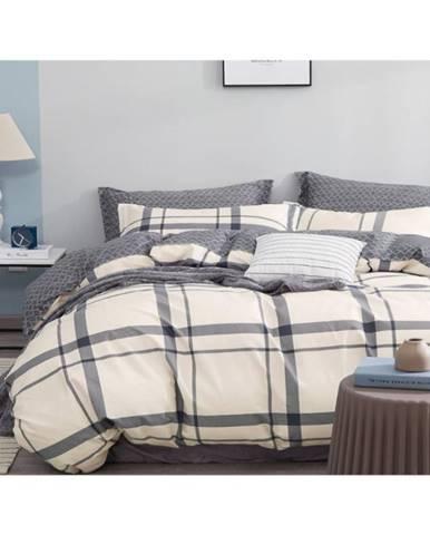Bavlnená saténová posteľná bielizeň ALBS-01145B/2 140X200 Lasher