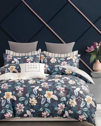Bavlnená saténová posteľná bielizeň ALBS-01147B/2 140X200 Lasher