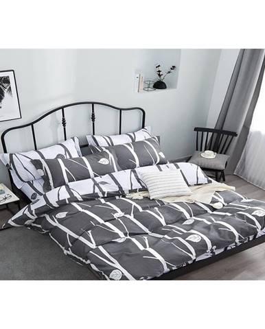 Bavlnená saténová posteľná bielizeň  ALBS-01149B/2 140X200 Lasher