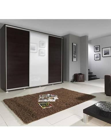 Skriňa Penelopa 255 cm s zrkadlom