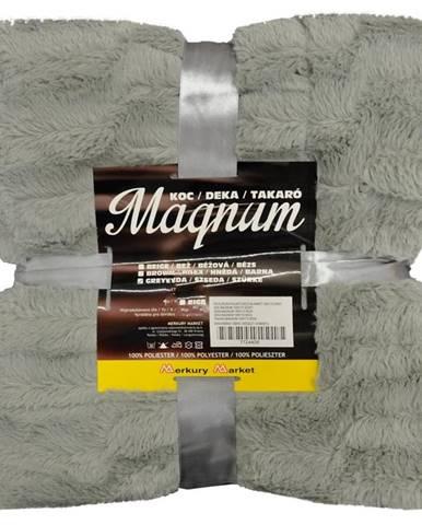 Deka Magnum 130X170 šedy