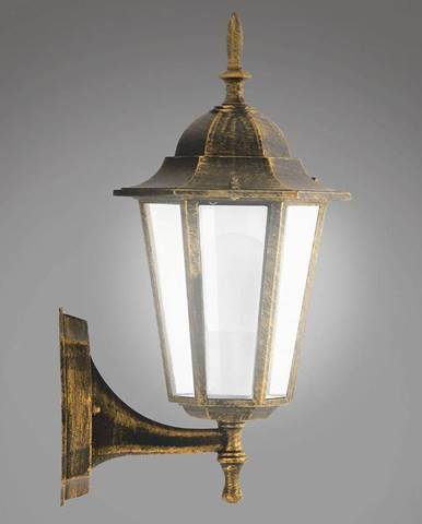 Nastenná záhradná lampa Liguria 1047IP patina KG1