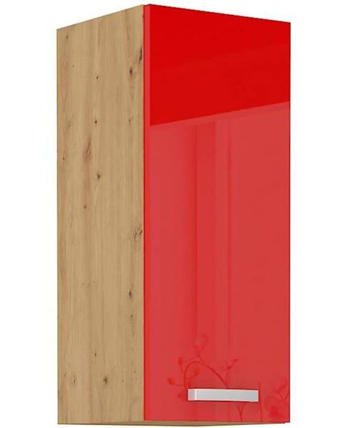 MERKURY MARKET Skrinka do kuchyne Artisan červená lesk 30G-72 1F
