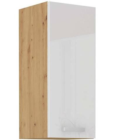 Skrinka do kuchyne ARTISAN biela lesklá 30G-72 1F